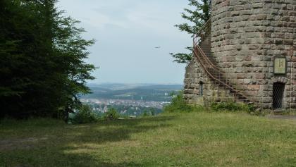 Im Inneren des Humberg-Turms befindet sich eine Wendeltreppe mit 130 Stufen.