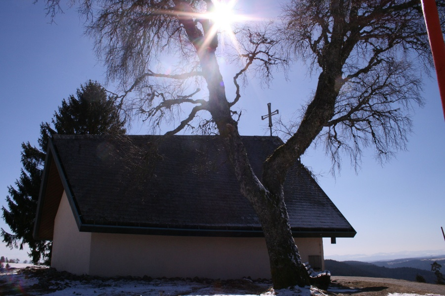 Höchenschwand: Marien-Chapel trail
