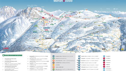 Winterpanorama Meran 2000