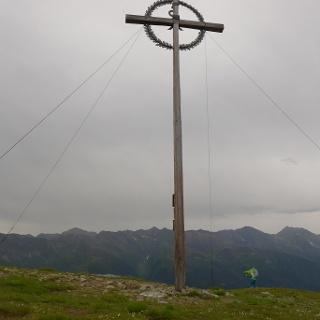 Das Gipfelkreuz des Speikbodens