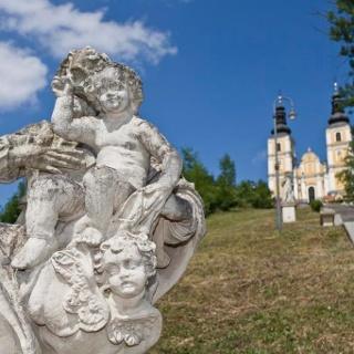 Aufstieg zur Mariatrosterkirche