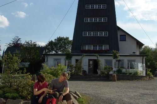 Rothaarsteig 4. Etappe: von Schanze bis zum Rhein-Weser-Turm