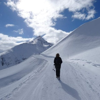 Winterwandern in Vent