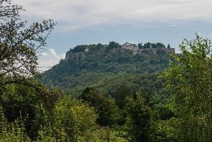 Foto Blick zur Festung Königstein