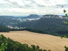 Foto Blick vom Gipfel des Kleinen Bärensteins