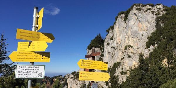 alpine Gefahren-bitte beachten