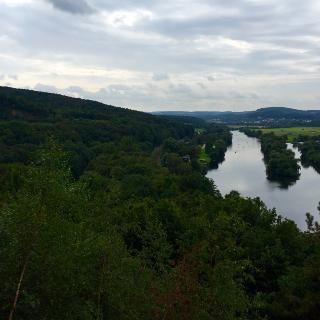 Ausblick auf die Ruhr