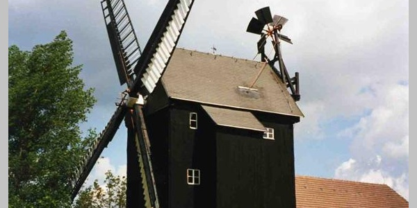 Mühlen wie dieser werden wir auf unserer Tour oft begegnen.