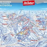 Pistenpanorama Skiwelt