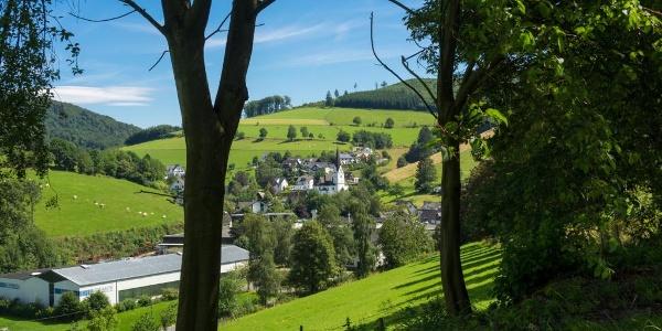 Blick auf KIrchrarbach