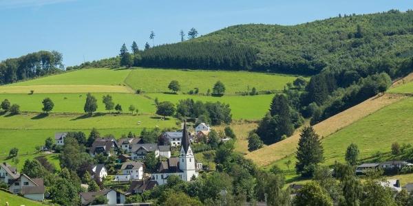 Kirchrarbach im Schmallenberger Sauerland