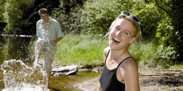 Wasserspass am Mathisleweiher