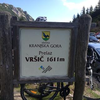 Start am Vršič-Pass