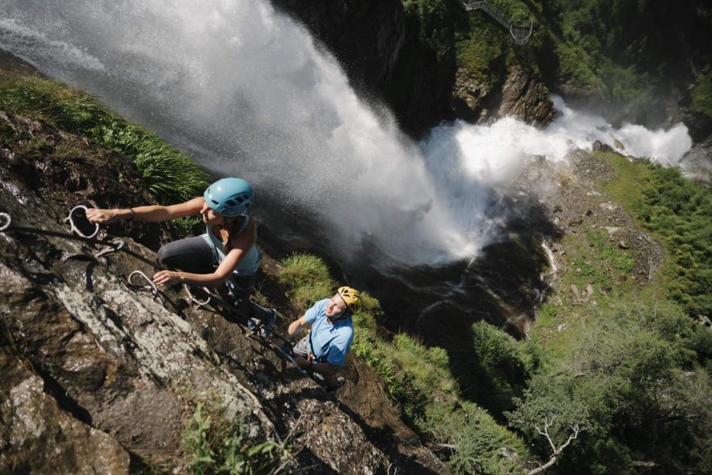 Klettersteig Umhausen : Klettersteig stuibenfall Österreichs wanderdörfer