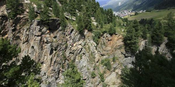 Klettersteig Obergurgl-Zirmwald