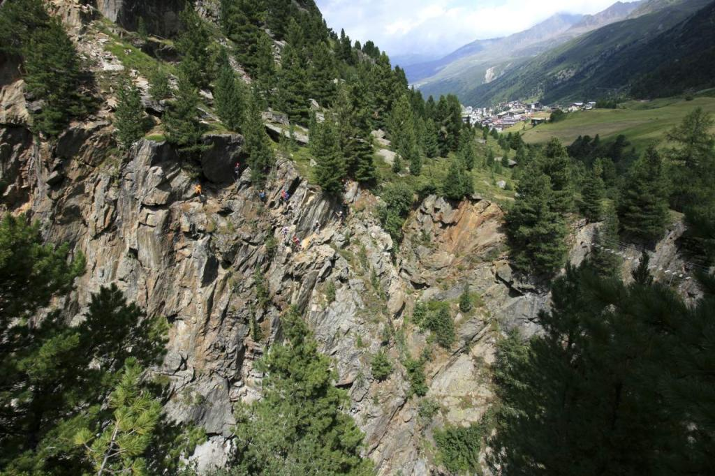 Klettersteig Obergurgl : Klettersteig obergurgl zirbenwald Österreichs wanderdörfer