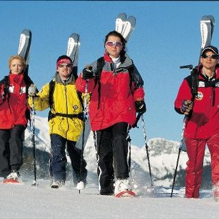 Schneeschuhwanderung auf der Postalm, Abtenau