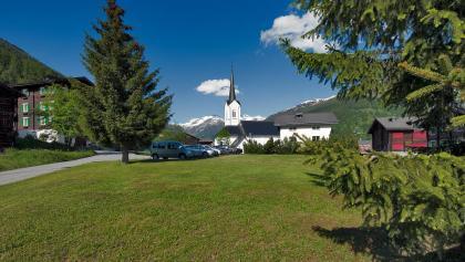 Das Dorf Ulrichen