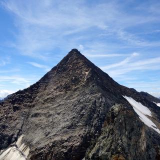 N-Grat von Vord. Gubachspitze (3316m) aus gesehen.