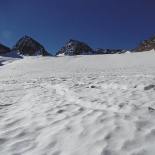 Ochsentaler Gletscher auf ca. 2850 HM