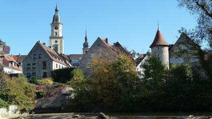Schleifenroute | Crailsheim Blick auf die Stadt
