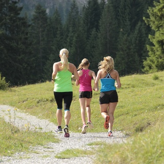 Laufen im Tannheimer Tal