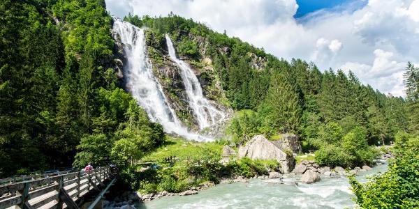 The famous Nardis waterfalls in Val Genova