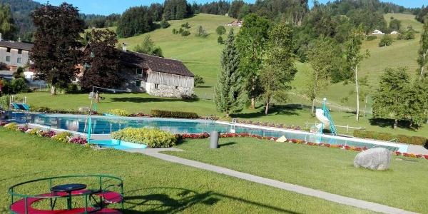 Schwimmbad Schwarzenberg, Ortsteil: Geroldsegg