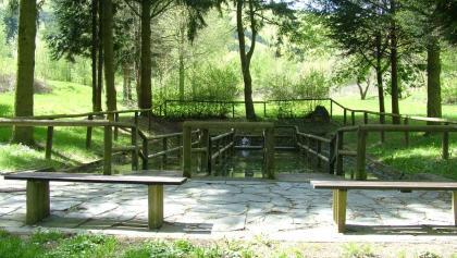 Wassertretbecken am Sauerbrunnen