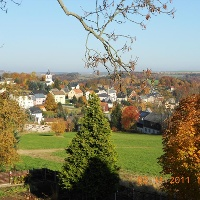 Waldkirchen/Erzg. im Herbst
