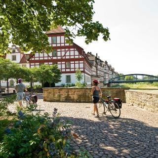 Fuldaradweg R 1 in Rotenburg
