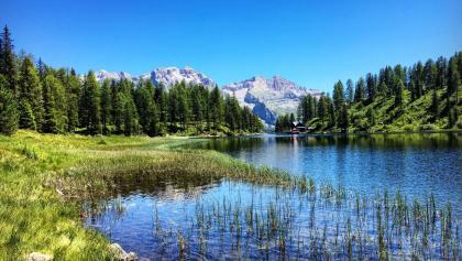 Malghette lake and refuge