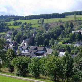 Grönebacher Dorfpfad - Blick auf Grönebach
