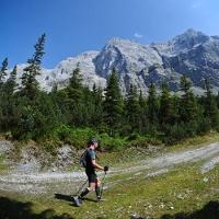 Trailrunning von Garmisch-Partenkirchen nach Ehrwald