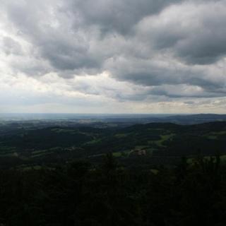 Ausblick vom Waldwipfelweg