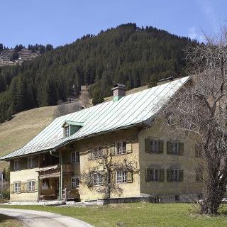Walserhaus in Mittelberg - Außenansicht