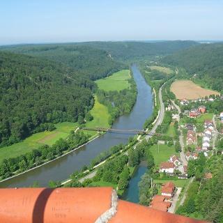 Blick von Burg Randeck
