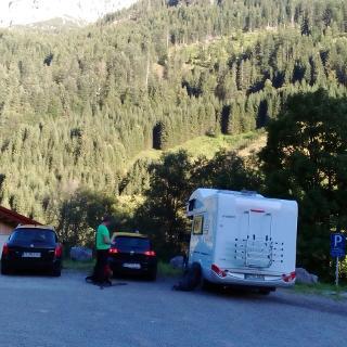 Parkplatz Hinterhornbach