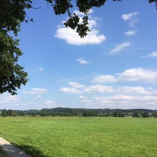 Schmutterwiesen auf Höhe Diedorf