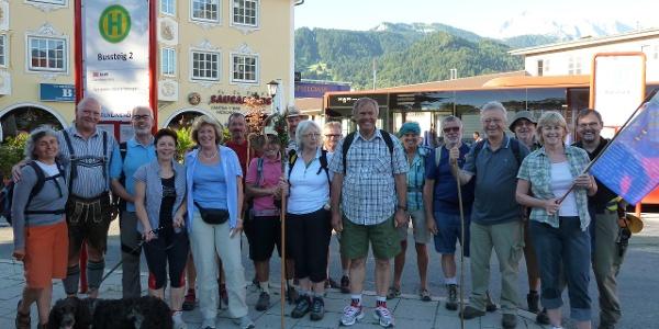 Am Bahnhof in Garmisch-Partenkirchen