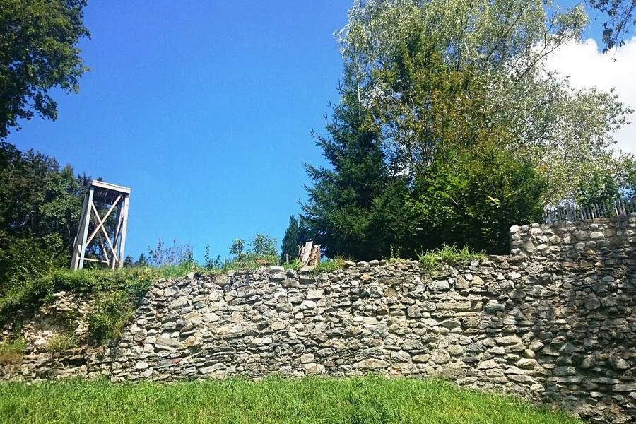 Historischer Rundweg zur Burgruine Kling