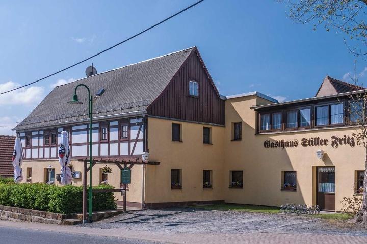 """Foto Start- und Ziel: Gaststätte """"Stiller Fritz"""""""
