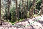 Foto Abstieg auf Kletterpfad