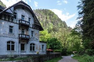 Foto Waltersdorfer Mühle im Aufbruch