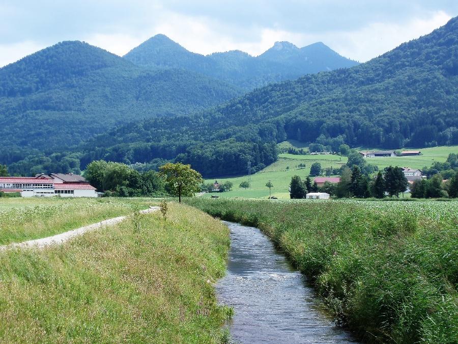 Familienwanderung Bernauer Ache-©Quelle: Gemeinde Bernau a. Chiemsee