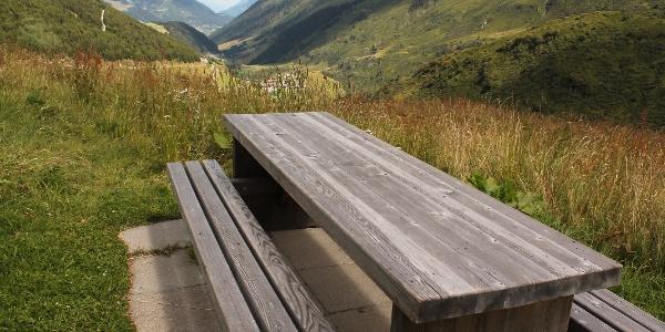 Picknick-Platz mit Aussicht