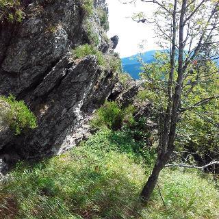 Blick am Ossermassiv entlang nach Bayern