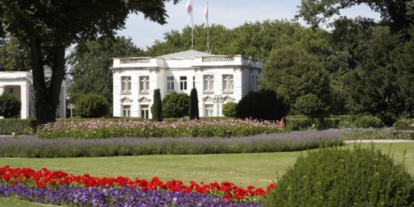 Das Haus des Gastes im Kurpark