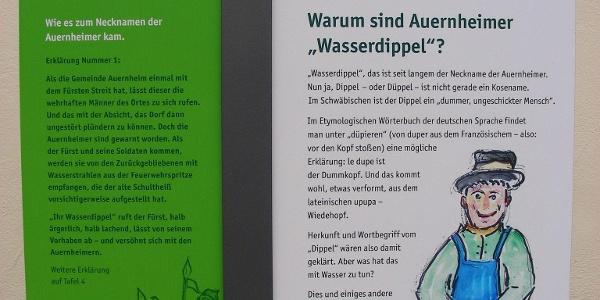 Thementafel Wasser&Klang-Pfad.
