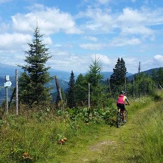 Fahrt Richtung Pritzhütte